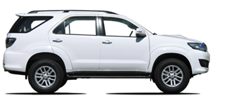 Fortuner 3.0L turbo diesel LHD